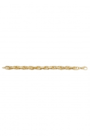 9CT YEL GOLD LADIES 7.5 INCHES POW  BRCLT