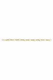 9CT YEL GOLD LADIES 7.5 INCHES FANCY BRCLT