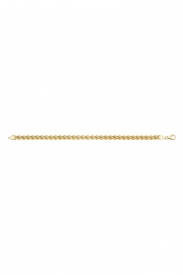 9CT YEL GOLD LADIES 7.5 INCHES FANCY BRACELET