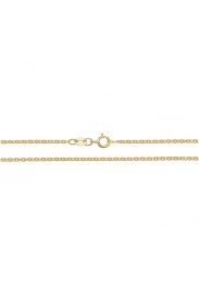 18CT YEL GOLD CABLE CHAIN