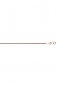 18CT ROSE GOLD WHEAT RND CHAIN