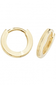 9CT YEL GOLD HINGED EARRINGS