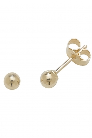 9CT YEL GOLD 3MM BALL STUD EARRINGS