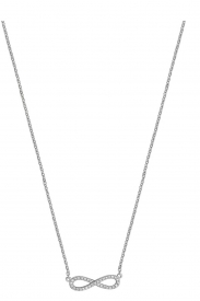 DIAMOND INFINITY NECKLACE 16 3/4INCH