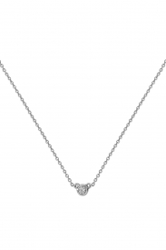 DIAMOND NECKLACE 16 3/4INCH