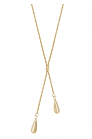 9CT YEL GOLD LADIES 18+2.5 INCHES NECKLET