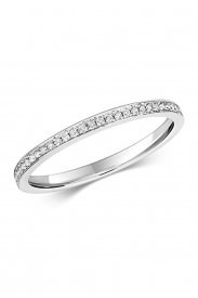 9CT Grain Set Diamond Eternity Ring