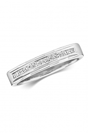 9CT Princess Cut Diamond Eternity Ring