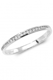 9K 1/2 Eternity Diamond Ring