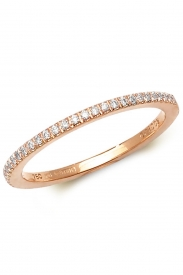 18K 1/2 Eternity Diamond Band