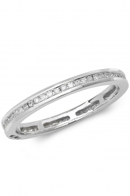 18K Full Eternity Diamond Ring